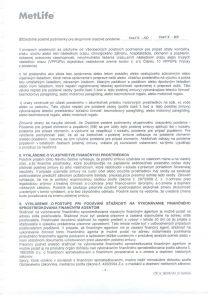 Úrazové poistenie-poistná zmluva 005